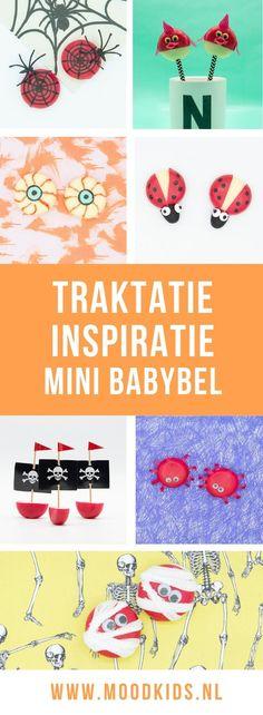 Babybel traktatie inspiratie #halloween Birthday Candy, Pinterest Blog, Treats, Halloween, Poster, Parenting, Sweet Like Candy, Goodies, Sweets