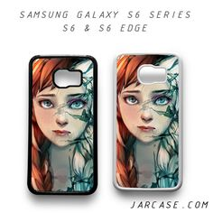anna and elsa Phone case for samsung galaxy S6