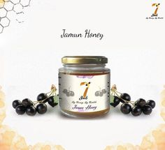 With a sweet yet mild flavour and an undertone of treacle sweetness, this warm amber coloured ‪#‎JamunHoney‬ has a rich taste. ‪#‎7SeedsHoney‬ ‪#‎HoneyILoveYou‬ ‪#‎GoodHealth‬ ‪#‎Honey‬ ‪#‎Bees‬ ‪#‎LoveHoney‬ ‪#‎Yummy‬