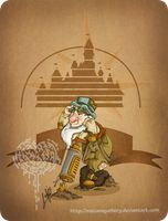 Disney steampunk: Sleepy by MecaniqueFairy