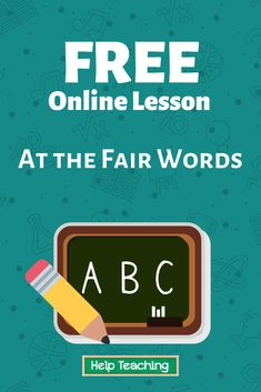 Have you ever been to the fair? The fair can be a lot of fun. There are rides at the fair. There are animals at the fair. There is lots of good food to eat at the fair. Watch the video to learn more things you'll find at the fair. #vocabulary #onlinelesson #onlinelearning
