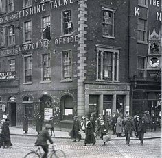 Ideas Irish History Facts Easter Rising For 2019 Ireland Pictures, Old Pictures, Old Photos, Vintage Photos, Dublin Street, Dublin City, Ireland 1916, Dublin Ireland, Castles In Ireland