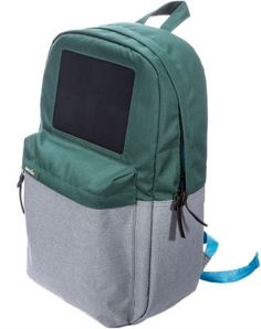 Birksun Backpack with solar panels to charge your laptop or mobile devices