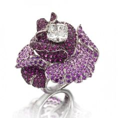 Rosamaria G Frangini | High Floral Jewellery | Ring by Picchiotti