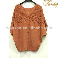 alas de murciélago de crochet chaqueta de punto para damas de diseño para la primavera 2012 - spanish.alibaba.com