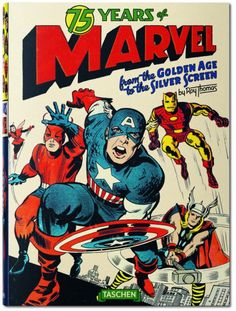 75 ans de Marvel, de l'âge d'or des comics à l'ère des blockbusters - le livre collector à découvrir on Trends Periodical ! #Marvel