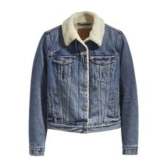5c1955a5919 BuyLevi's Original Sherpa Trucker Jacket, Extremely Lovable, XS Online at  johnlewis.com John
