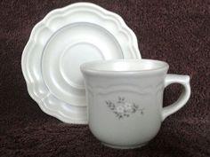 Pfaltzgraff Heirloom Coffee Cups and Saucers #Pfaltzgraff