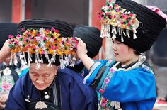 The Miao (Chinese: 苗) is an ethnic group recognized by the government of the People's Republic of China (PRC) as one of the 55 official minority groups.   The Miao live primarily in southern China, in the provinces of Guizhou, Hunan, Yunnan, Sichuan, Guangxi, Hainan, Guangdong, and Hubei.They are divided into several branches, such as Black Hmong, White Hmong, Striped Hmong, etc.