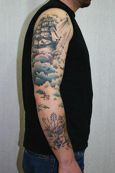 Tattoo by Julia Töbel (Tatau Obscur Berlin) www.tatauobscur.de http://tatauobscur.tumblr.com