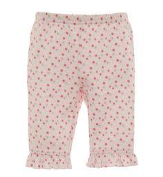 Pink Dot Ruffled Pant