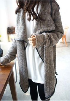 #street #style / sweater coat