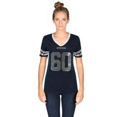 Dallas Cowboys Women's Navy Kessler Fashion Jersey