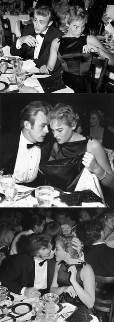 James Dean and Ursula Andress on a date.