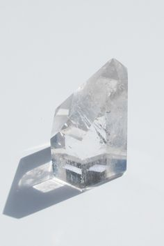 Brazilian Clear Quartz 6 Faceted Crystal Point | available at Velvet Moon
