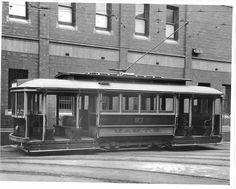 J class tram, Malvern Depot, ca. 1925.