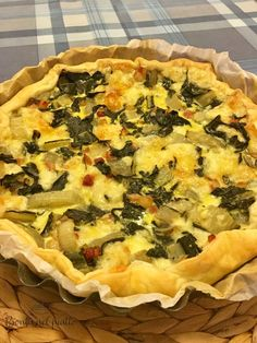 Pancetta, Button Necklace, Strudel, Pane, Vegetable Pizza, Quiche, Muffin, Vegetables, Breakfast