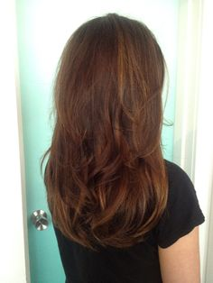 Blended brown kevin murphy colour keeping original light foils in the mix, and bouncy blowdry!