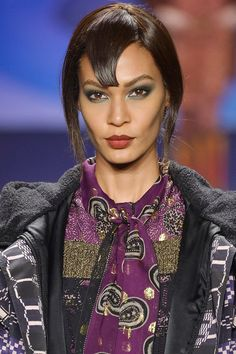 Anna Sui | The Best Beauty Looks From New York: Fall 2014