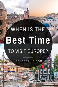 When is the best time to visit Europe? Here's your complete guide on when to visiting Europe, a season by season guide to spending time in Europe Solo Travel Europe, Spain Travel, European Travel, Austria Travel, Norway Travel, Ireland Travel, Danzig, Europa Im Winter, Europe In December