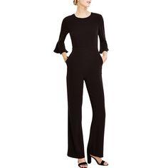 - Ann Taylor Fluted Sleeve Jumpsuit, $179