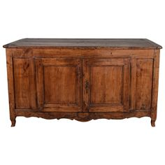 18th Century Rustic French Buffet | From a unique collection of antique and modern buffets at https://www.1stdibs.com/furniture/storage-case-pieces/buffets/