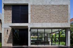 Thao Dien House #architecture #interiordesign #façade #bricks