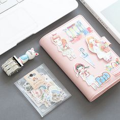 1 bag cartoon funny animals paper sticker package DIY diary decoration sticker planner album scrapbooking kawaii stationery