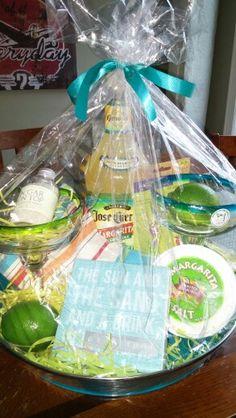 Margarita Gift Basket Raffle Ideas Baskets Birthday