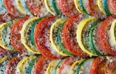 Sprinkle Oregano And Cheese Over Veggie Slices For A Delicious Parmesan Zucchini Bake