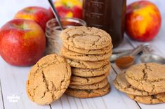 Here are the best Thanksgiving Cookies Recipes. From Pumpkin Cookies to Apple Cookies to Pecan Butter cookies to Turkey decorated cookies with royal icing. Apple Desserts, Apple Recipes, Just Desserts, Sweet Recipes, Baking Recipes, Cookie Recipes, Delicious Desserts, Dessert Recipes, Fall Recipes