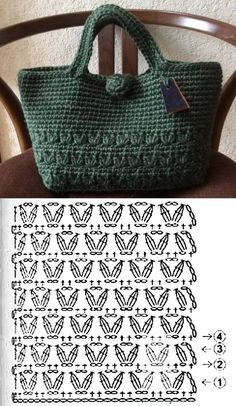 Escolha e copie: 18 Modelos de bolsa Sommertasche ⋆ - Pontos stricken Escolha . - Escolha e Kopie: 18 Modelos de Bolsa Summer Bag ⋆ – Pontos stricken Escolha e Copie: 18 - Crochet Tote, Crochet Handbags, Crochet Purses, Crochet Crafts, Crochet Stitches, Knit Crochet, Crochet Patterns, Crochet Summer, Purse Patterns