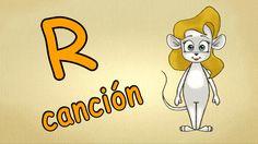 aprender español para niños - La letra R -como aprender hablar español