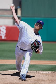 Ryan Dempster pitched for the Cubs against the Dbacks today