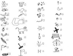 scavenger hunt I made for my five-year-old: 35 amusingly bad drawings with check-boxes