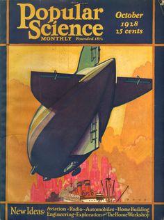 POPULAR SCIENCE OCTOBER, 1928
