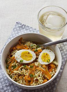 Fancy ramen noodles!!! abeautifulmess.com