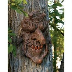 Poison Oak: Greenman Tree Sculpture $29.95 - $49.95