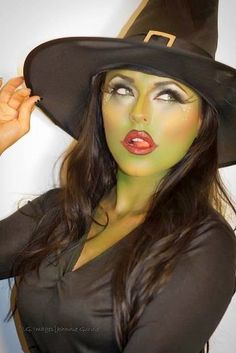 Cool Halloween make-up tips for a scary look - Fasching Kostüme , Schminktips usw -