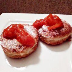 Szafi Fitt paleo fánk Paleo, Baked Potato, French Toast, Fitt, Cheesecake, Baking, Breakfast, Ethnic Recipes, Desserts
