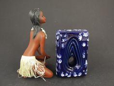 Vintage Keramik Vase / ES Keramik / Modell 663 13 | West German Pottery | 60er von ShabbRockRepublic auf Etsy
