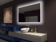 Backlit Bathroom Mirror Rectangle
