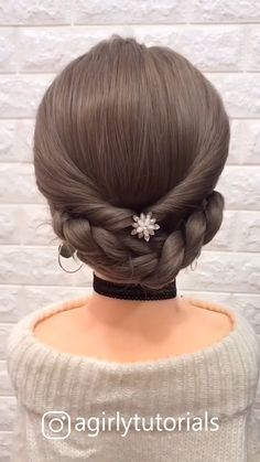 12 Tutorials Braid Hair You Can Do Yourself Part 2 – beautiful hair styles for wedding Step By Step Hairstyles, Easy Hairstyles For Long Hair, Braids For Long Hair, Diy Hairstyles, Pretty Hairstyles, Hairstyle Tutorials, Hairstyles Videos, Hairstyles For School, Long Hair Dos