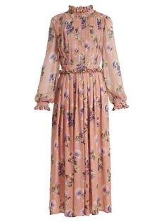 Stylish Dresses, Simple Dresses, Casual Dresses, Summer Dresses, Cute Floral Dresses, Mode Abaya, Mode Hijab, Frock Fashion, Fashion Dresses