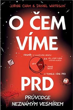 O čem víme prd: Průvodce neznámým vesmírem - Jorge Cham | Databáze knih Books To Read, Calm, Humor, Reading, Artwork, Wicker, Work Of Art, Auguste Rodin Artwork, Humour
