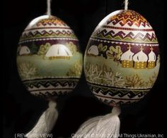 Ukrainian Easter Egg Pysanky UA10083 by Iryna Vakh from the Lviv on AllThingsUkrainian.com