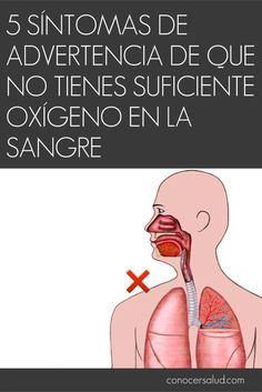 5 síntomas de advertencia de que no tienes suficiente oxígeno en la sangre #salud