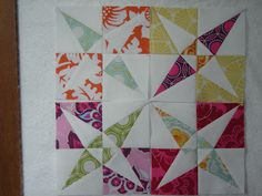 """What what?!?! This looks like such a fun paper-pieced """"Tippecanoe"""" block by Jess of The Elven Garden."""