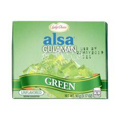 Lady's Choice Alsa Gulaman Green 90g