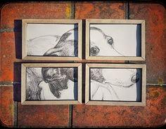 Greyhound needs help Good Cause, New Work, Behance, Gallery, Check, Artwork, Work Of Art, Auguste Rodin Artwork, Artworks